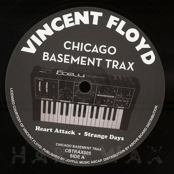 Cover art - Vincent Floyd: Heart Attack