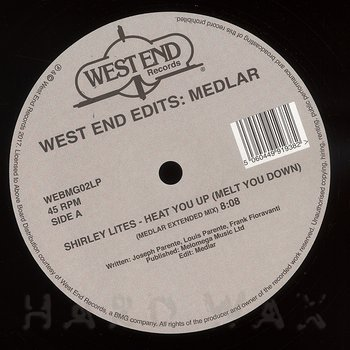 Cover art - Various Artists: West End Edits: Medlar