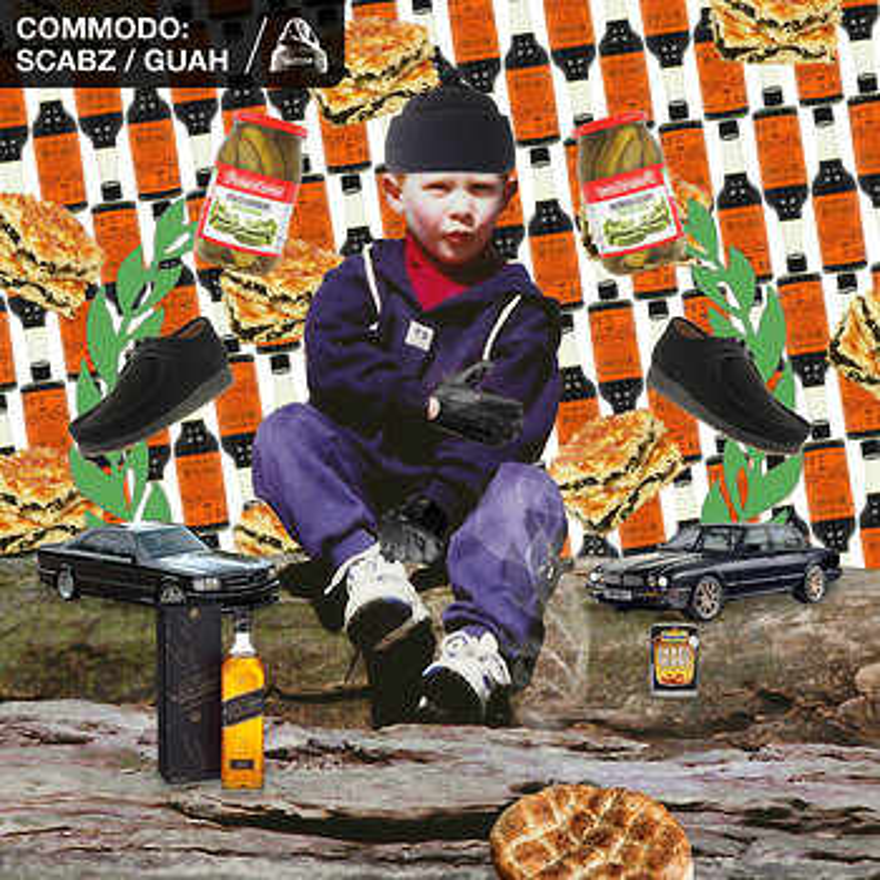 Cover art - Commodo: Scabz / Guah