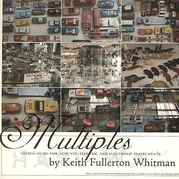 Cover art - Keith Fullerton Whitman: Multiples