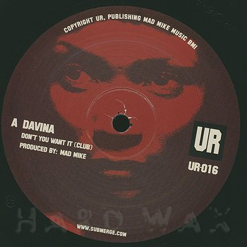 Cover art - Davina: Don't You Want It