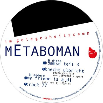Cover art - Metaboman: Im Gelegenheitscamp