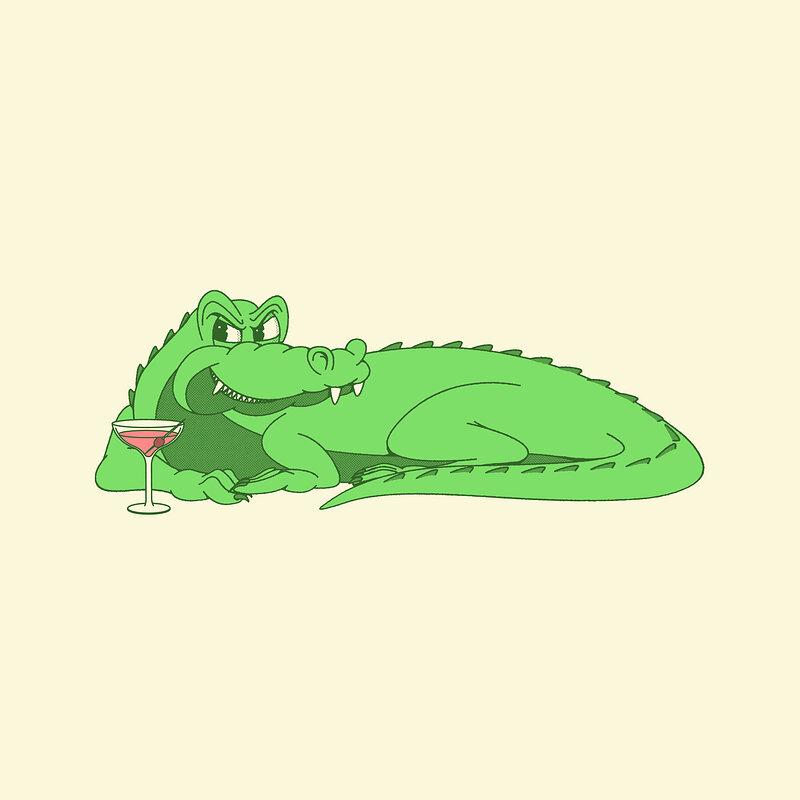 Cover art - Serum: Gator / Tokyo Rose