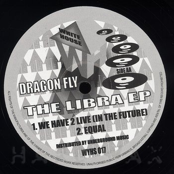 Cover art - Dragon Fly: The Libra EP