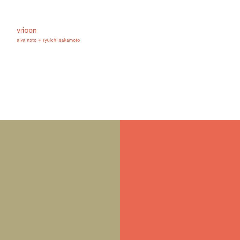 Cover art - Alva Noto & Ryuichi Sakamoto: Vrioon