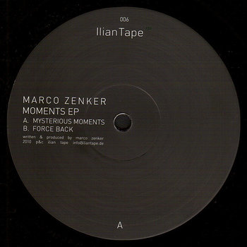 Cover art - Marco Zenker: Moments EP