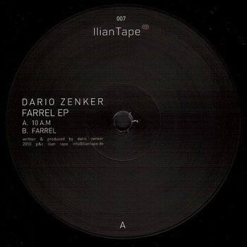 Cover art - Dario Zenker: Farrel EP
