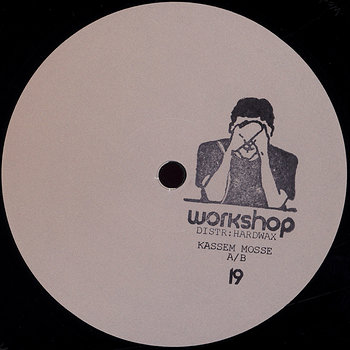 Cover art - Kassem Mosse: Workshop 19