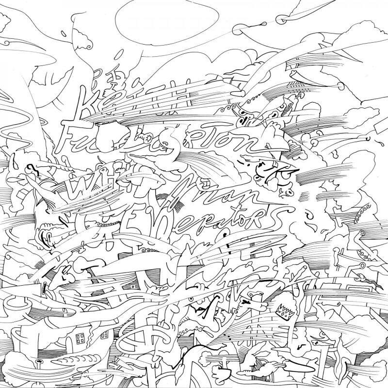Cover art - Keith Fullerton Whitman: Generators