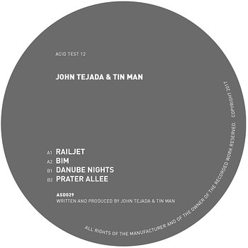 Cover art - John Tejada & Tin Man: Acid Test 12