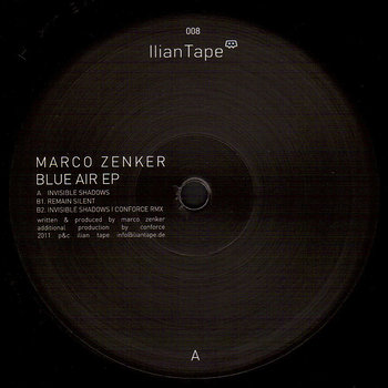 Cover art - Marco Zenker: Blue Air EP