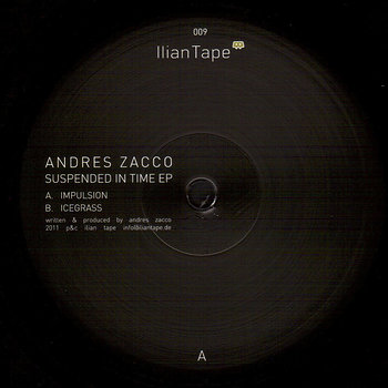 Cover art - Andrés Zacco: Suspended In Time EP