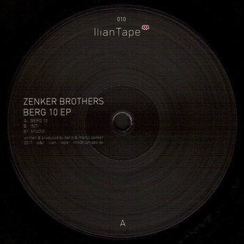 Cover art - Zenker Brothers: Berg 10 EP