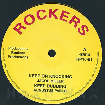 Cover art - Hugh Mundell / Jacob Miller: Book Of Life / Keep On Knocking