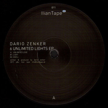 Cover art - Dario Zenker: 6 Unlimited Lights EP