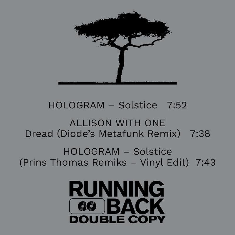 Cover art - Hologram: Solstice