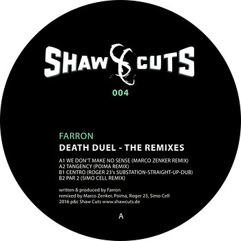 Cover art - Farron: Death Duel Remixes