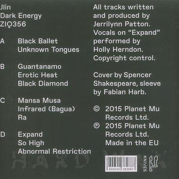 Cover art - Jlin: Dark Energy