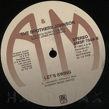 Cover art - The Brothers Johnson: Stomp