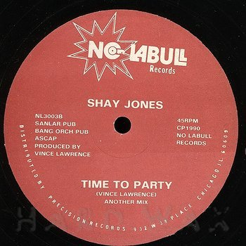Cover art - Shay Jones: Time To Party