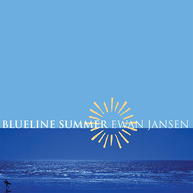 Cover art - Ewan Jansen: Blueline Summer