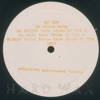 Cover art - DJ Guy: Whale Song (1994)