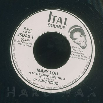 Cover art - Dr. Alimantado: Mary Lou