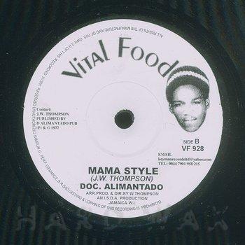 Cover art - Dr. Alimantado: Mama (I Thank You)
