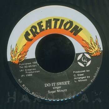Cover art - Sugar Minott: Do It Sweet