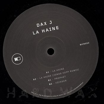 Cover art - Dax J: La Haine
