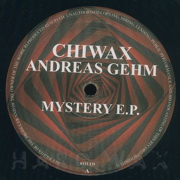 Cover art - Andreas Gehm: Mystery EP