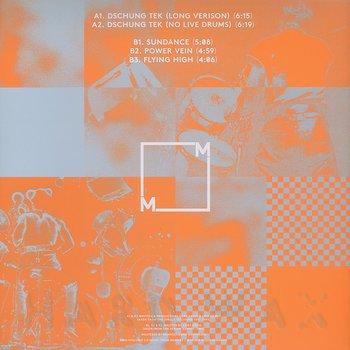 Cover art - Curt Cress: Dschung Tek EP