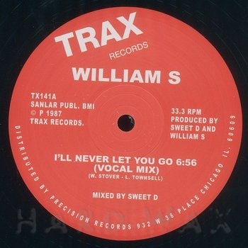 Cover art - William S: I'll Never Let You Go