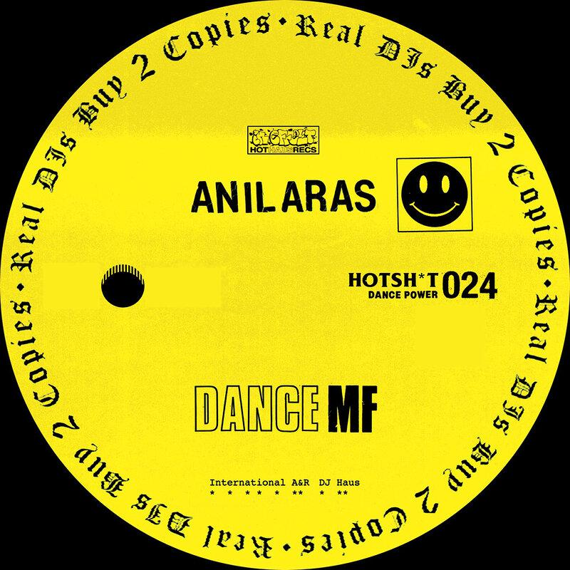 Cover art - Anil Aras: Dance MF