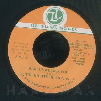 Cover art - Mighty Diamonds: Marcus We Miss You