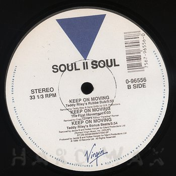 Cover art - Soul II Soul: Keep On Moving