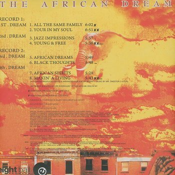 Cover art - The African Dream: The African Dream