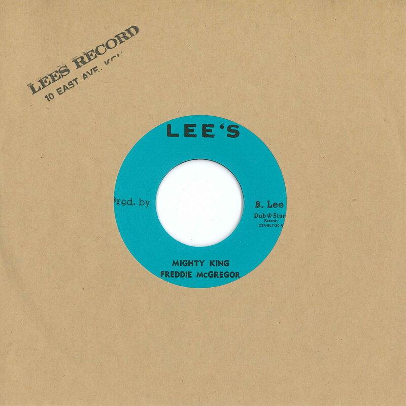 Cover art - Freddie McGregor: Mighty King / Little Angel