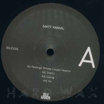 Cover art - Matt Karmil: LP