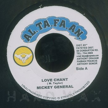 Cover art - Mikey General: Love Chant