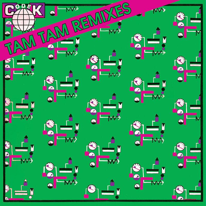 Cover art - Codek: Tam Tam (Remixes)