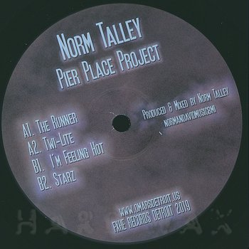 Cover art - Norm Talley: Pier Place Project