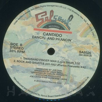 Cover art - Candido: Dancin' & Prancin' - Expanded Edition