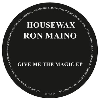 Cover art - Ron Maino: Give Me The Magic EP