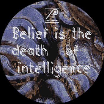 Cover art - Makaton & Inigo Kennedy: Belief Is The Death Of Intelligence