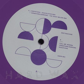 Cover art - Driftmachine: Radiations