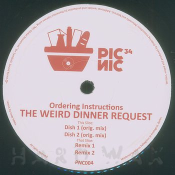 Cover art - Ordering Instructions: The Weird Dinner Request