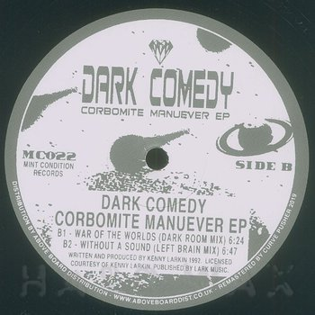 Cover art - Kenny Larkin: Dark Comedy: Corbomite Manuever EP