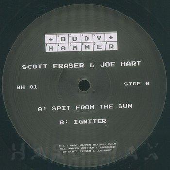 Cover art - Scott Fraser & Joe Hart: Spit From The Sun