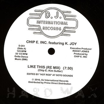 Cover art - Chip E feat. K-Joy: Like This